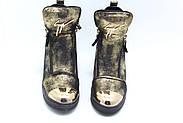 Женские зимние ботинки на скрытой танкетке ботинки Vensi V8, фото 5
