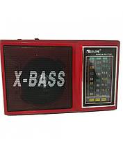 Акустическая система Golon RX-177LED радиоприемник аккумуляторный FM радио колонка 20 см