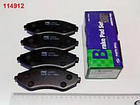 Колодки передние тормозные Lanos 1.6, PMC (PKC-003)
