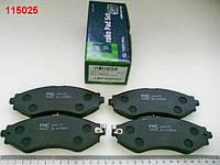 Колодки передние тормозные Lacetti, PMC (PKC-013)