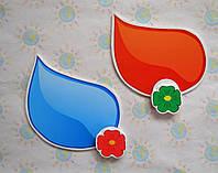 Магнитный стенд для крепления рисунка Капля краски