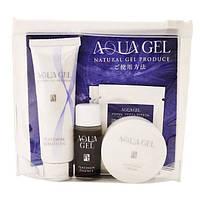 La Sincere Aquagel Японский дорожный набор косметики 4 средств Trial set 4 pieces JQA4