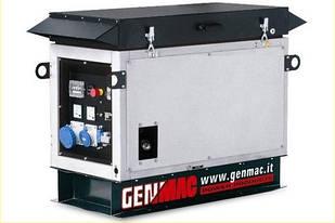 Трифазна газова електростанція Genmac WONDER G12000KSA (11 кВа)