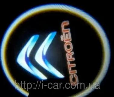 Проекция логотипа автомобиля CITROEN