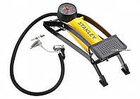 Насос ножной для автомобильных шин , макс. давление - 7 атм., 3 насадки Stanley STHT80894-1