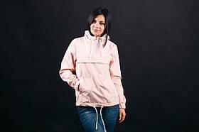 Акция! Женский Анорак весна-осень  Pink