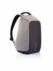 Рюкзак Memos Bobby bag антивор Черно-серый (14-MBb1-01)
