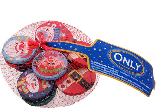 Новогодние конфеты Only в сетке 85 гр Австрия
