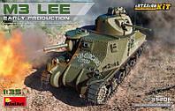 1:35 Сборная модель танка M3 'Lee', MiniArt 35206;[UA]:1:35 Сборная модель танка M3 'Lee', MiniArt 35206