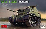 1:35 Сборная модель танка M3 'Lee', MiniArt 35214;[UA]:1:35 Сборная модель танка M3 'Lee', MiniArt 35214