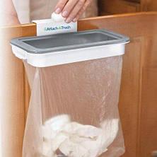 Мусорное ведро Attach-A-Trash   навесной держатель мешка для мусора, фото 3