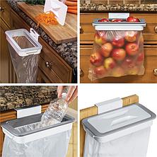 Мусорное ведро Attach-A-Trash   навесной держатель мешка для мусора, фото 2