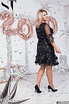 Оригинальное платье больших размеров, фото 3