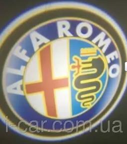 Проекция логотипа автомобиля ALFA ROMEO