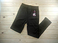 Женские лосины брюками с мехом внутри ,размер L с карманами