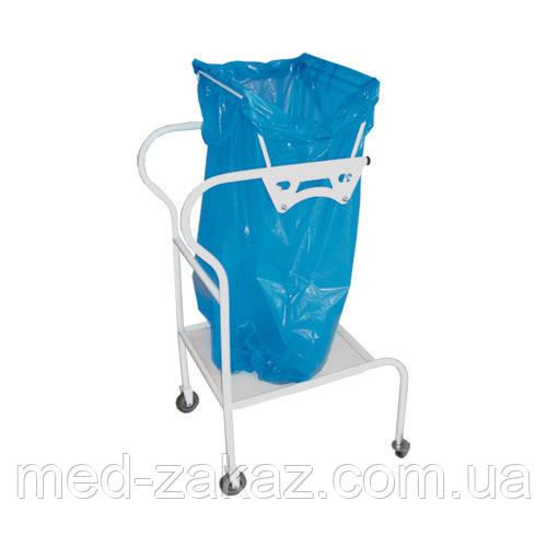 Тележка медицинская для отходов Viola ВМб-6