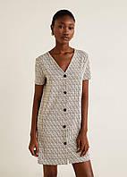 Платье женское Mango Бежевое M (44)