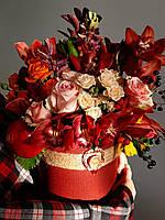 Букет из цветов Цвет в Коробке