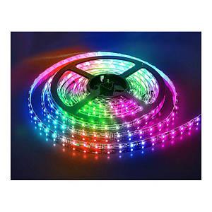 Новогодние гирлянды | Led лента | Светодиодная лента, 50/50 RGB 5м OPP (Симфония) (RGB)