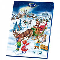 Адвент календарь шоколадный Only 75 г Австрия