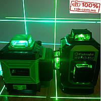 ОТКАЛИБРОВАН!!! СИНИЙ ЛУЧ Feikedo 4D Лазерный уровень 16 линий + ПУЛЬТ