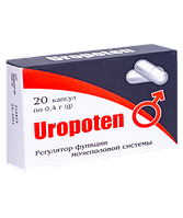 Уропотен (Uropoten) капсулы от недержания мочи