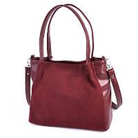 Женская сумка из натуральной замши Камелия М166-75/замш, фото 1