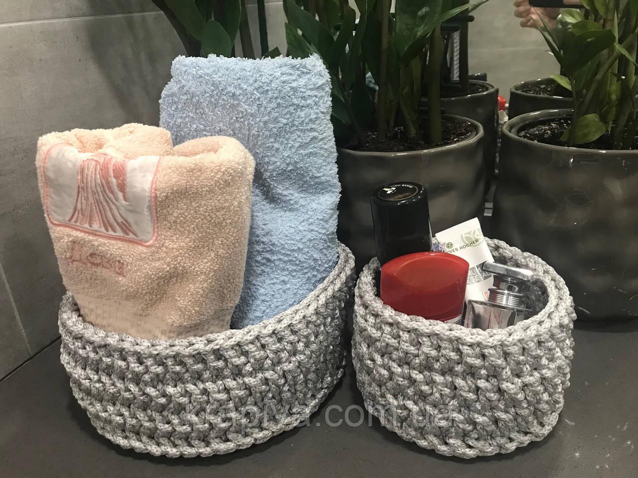 Набор декоративных корзин для дома и интерьера, ВЛАГОСТОЙКИЕ, корзины, кашпо