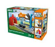 BRIO World Smart Tech Тоннель с подъёмным краном 33827, фото 5