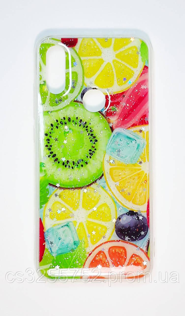 Чехол для Xiaomi Redmi 7 цитрус TPU+силикон