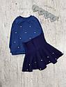 Детский теплый костюм с юбкой на 1,5-7 лет, фото 7