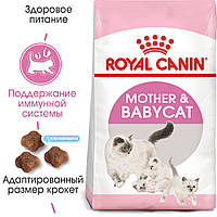 Royal Canin Mother&Babycat. Сухой корм для котят и беременных кошек. 10кг.