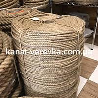 Веревка джутовая 6мм-1км. Канат., фото 1