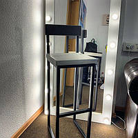 "Барный стул ""Фенеон"", барный стул, высокий стул, стул лофт, стул для баров, кафе, ресторанов"