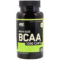 Аминокислотный комплекс BCAA 1000, 60 капсул Optimum Nutrition