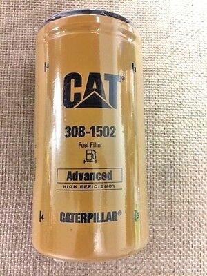 Топливный фильтр навинчиваемый высокой эффективности CATERPILLAR 308-1502 (оригинал)