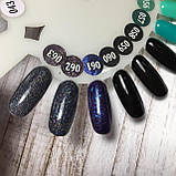 Гель-лак TK Vip-Product №060 (черный), 8 мл, фото 7