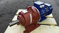 Мотор - редуктор 3МП 50 - 16 с электродвигателем 0.75 кВт 3000 об/мин