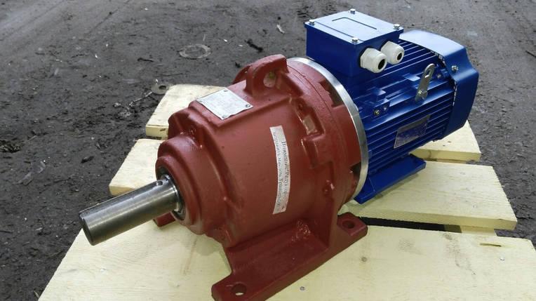 Мотор - редуктор 3МП 50 - 16 с электродвигателем 0.75 кВт 3000 об/мин, фото 2