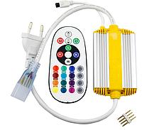 Пульт-контролер для светодиодной ленты RGB 220V