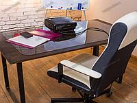 Ковер защитный на стол прозрачный 65х125см, толщина 1,0мм
