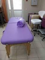 Стол массажный - кушетка Victory фиолетовый