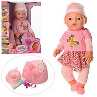 Кукла-пупс 8006-450 интерактивная, реплика, 9 функций