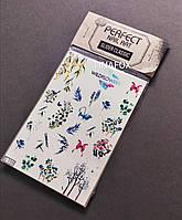 Наклейки слайдеры на водной основе для дизайна ногтей Perfect Nail Art, 159