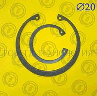 Кольцо стопорное DIN 472 Ф20, фото 1