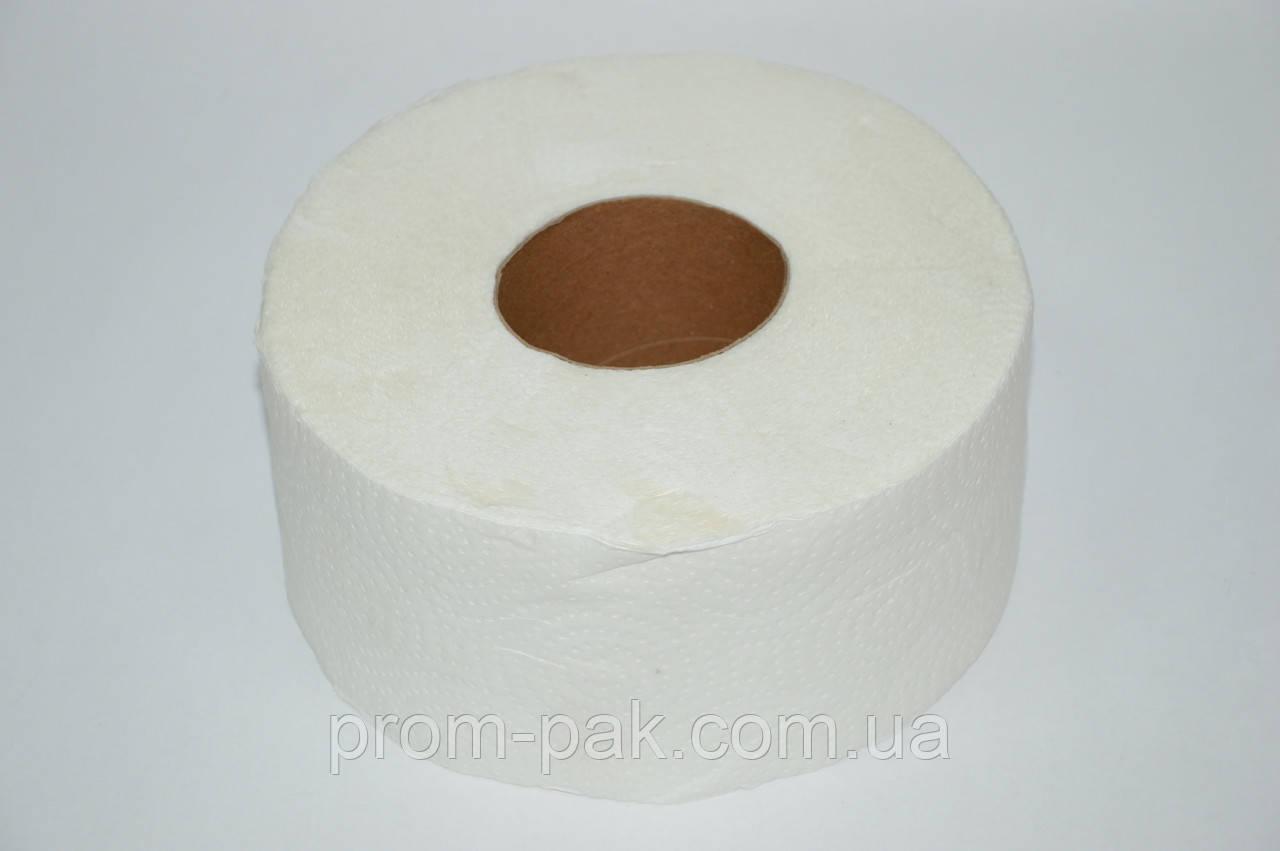 Туалетная бумага Джамбо 2 шара, белый цвет