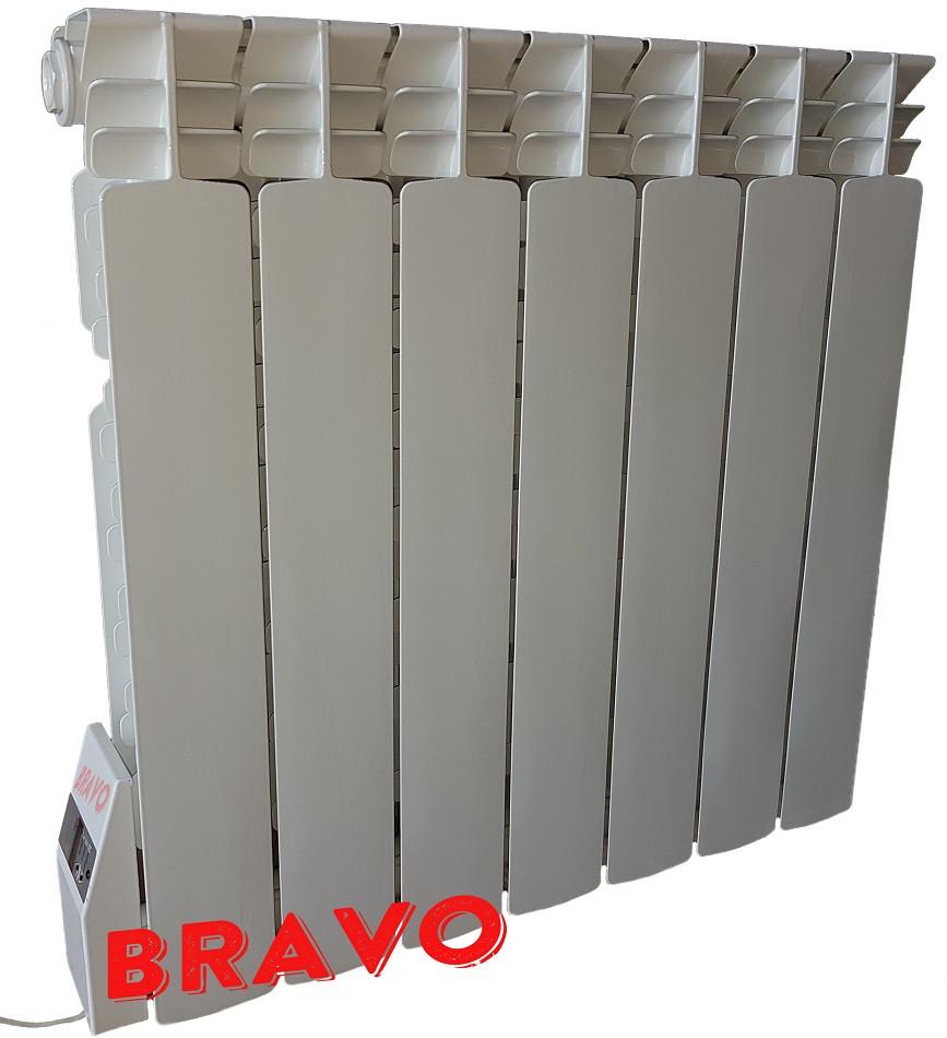 Электрорадиатор BRAVO 7 секций - отопление 14 кв.м