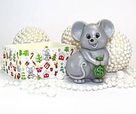 """""""Мышка с деньгами"""" натуральное подарочное мыло ручной работы"""