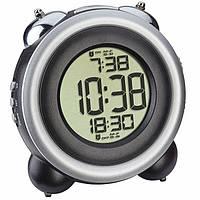 Цифровые часы с будильником TFA, Black-silver