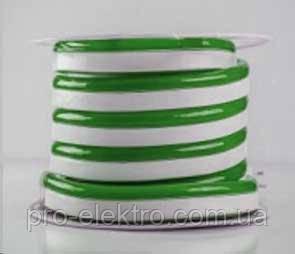 #55-GNEON120G2835-12V-6W/mIP658*16mm№1 Зелёный